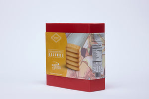 Hawaiian Shortbread Cookies Magnetic Gift Box, Lilikoi (6.6oz)