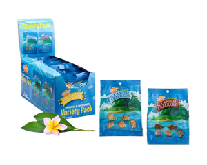 Hawaiian Sea Animal Crackers Variety Pack (5/0.8oz Original and 4/0.8oz Chocolate)