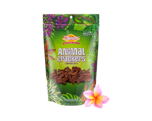 Hawaiian Jungle Animal Crackers, Chocolate (1.8oz)