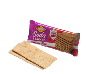 Hawaiian Crackers Grab N' Go Pack,  Cinnamon Toast Sodas (0.9oz/Case of 24)