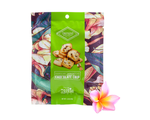 Mini Hawaiian Shortbread Cookies, Chocolate (1.2oz / Case of 100 )