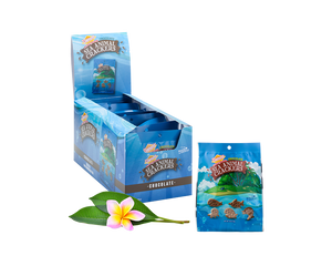 Hawaiian Sea Animal Crackers, Chocolate (0.8oz / Case of 9)