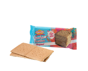 Hawaiian Crackers Grab N' Go Pack,  Original Grahams (0.8oz/Case of 24)