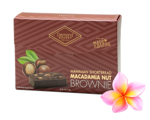 Hawaiian Macadamia Shortbread Cookies, Brownie (4.0oz)