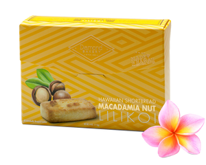 Hawaiian Macadamia Shortbread Cookies, Lilikoi (4.0oz)