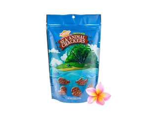 Hawaiian Sea Animal Crackers, Chocolate (4.5oz)