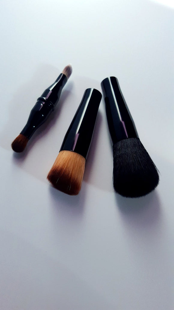 Vegan Makeup Brush Set Four Brushes in One - trend-pony