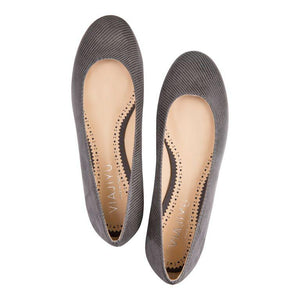 ROMA - Varanus Anthracite, VIAJIYU - Women's Hand Made Sustainable Luxury Shoes. Made in Italy. Made to Order.