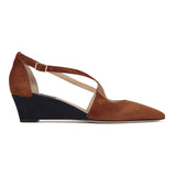 AREZZO - Velukid Dune + Karung Midnight, VIAJIYU - Women's Hand Made Sustainable Luxury Shoes. Made in Italy. Made to Order.