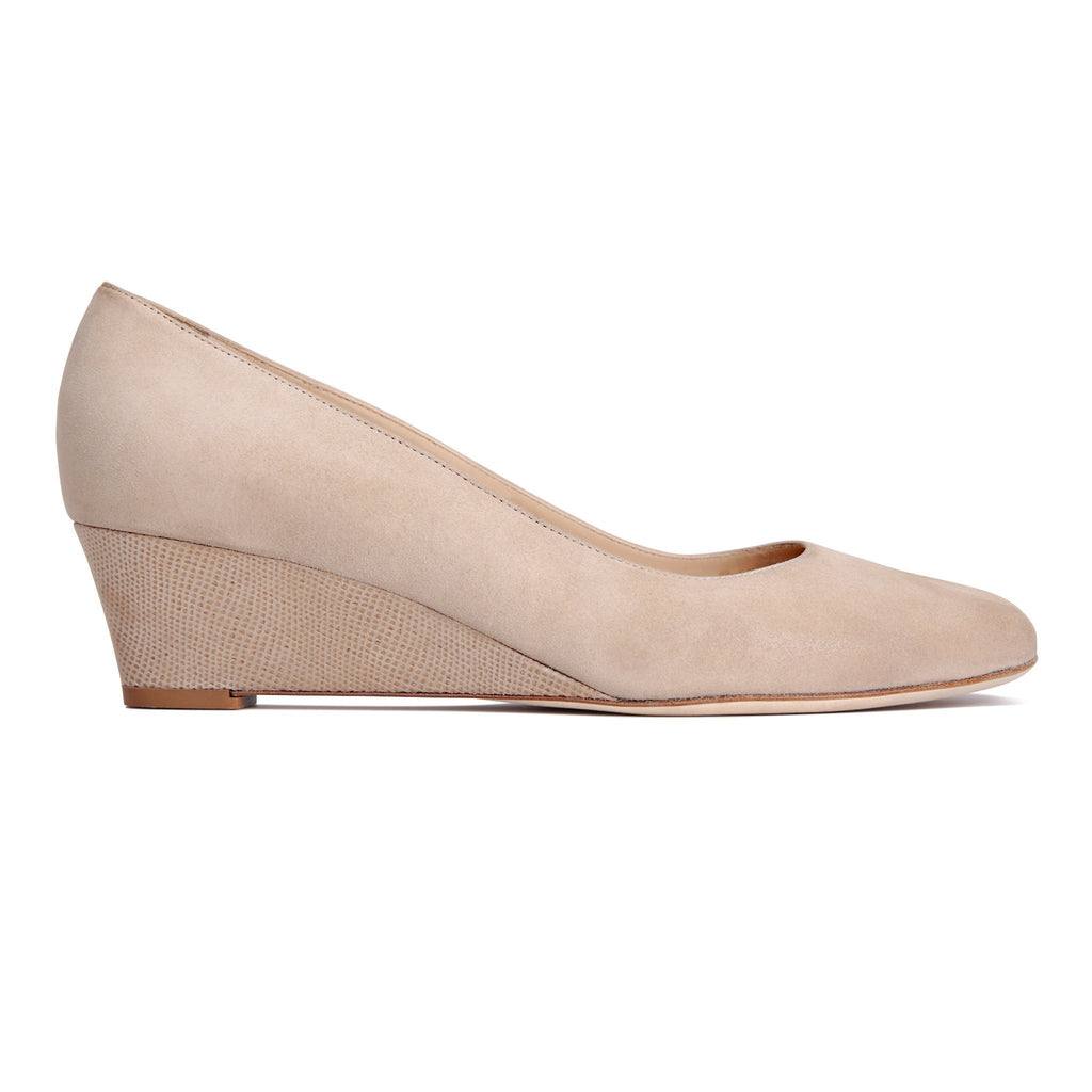 BERGAMO - Hydra Tan + Karung, VIAJIYU - Women's Hand Made Sustainable Luxury Shoes. Made in Italy. Made to Order.