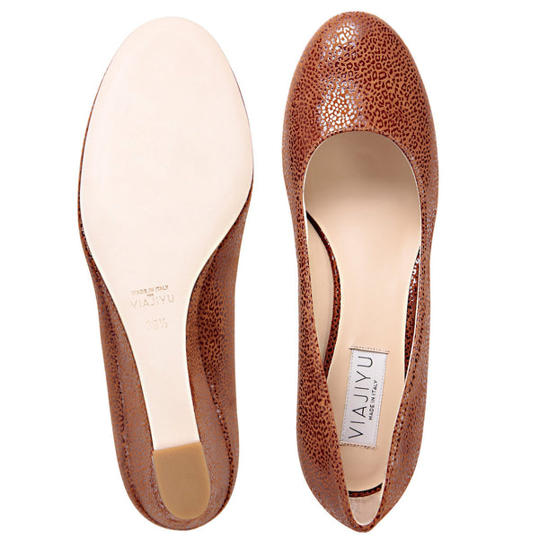 Bergamo, VIAJIYU - Women's Hand Crafted Luxury Flats. Made in Italy. Made to Order. Design your own.