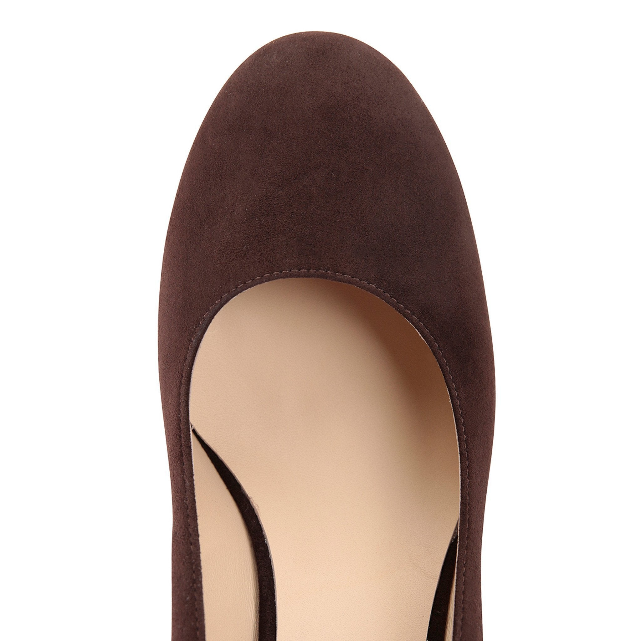 BERGAMO (faux suede), VIAJIYU - Women's Hand Made Sustainable Luxury Shoes. Made in Italy. Made to Order.