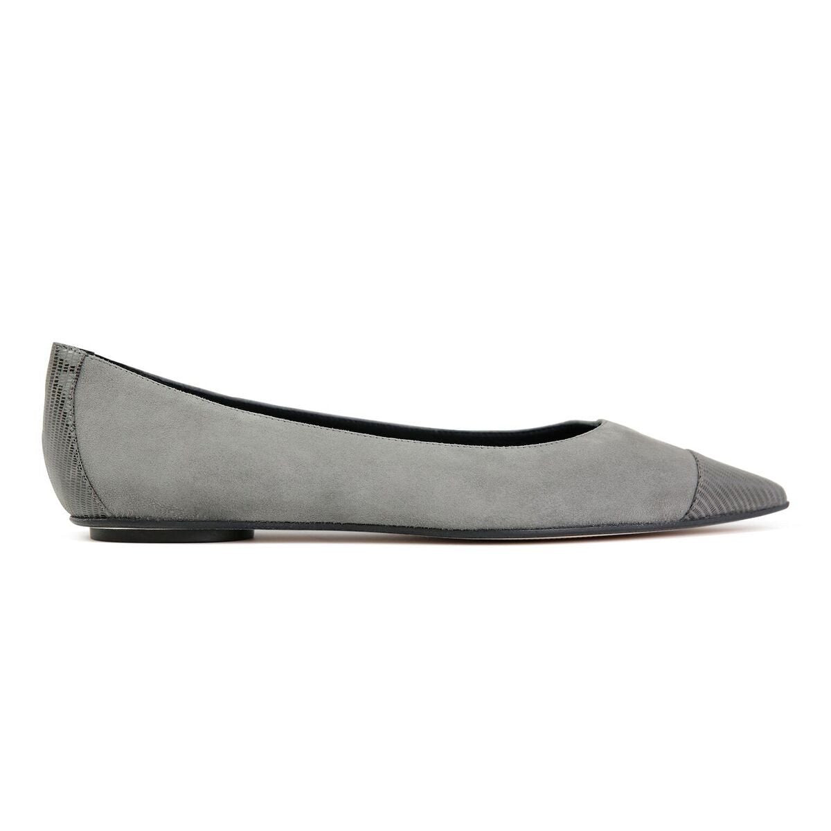 COMO - Velukid Anthracite + Varanus, VIAJIYU - Women's Hand Made Sustainable Luxury Shoes. Made in Italy. Made to Order.