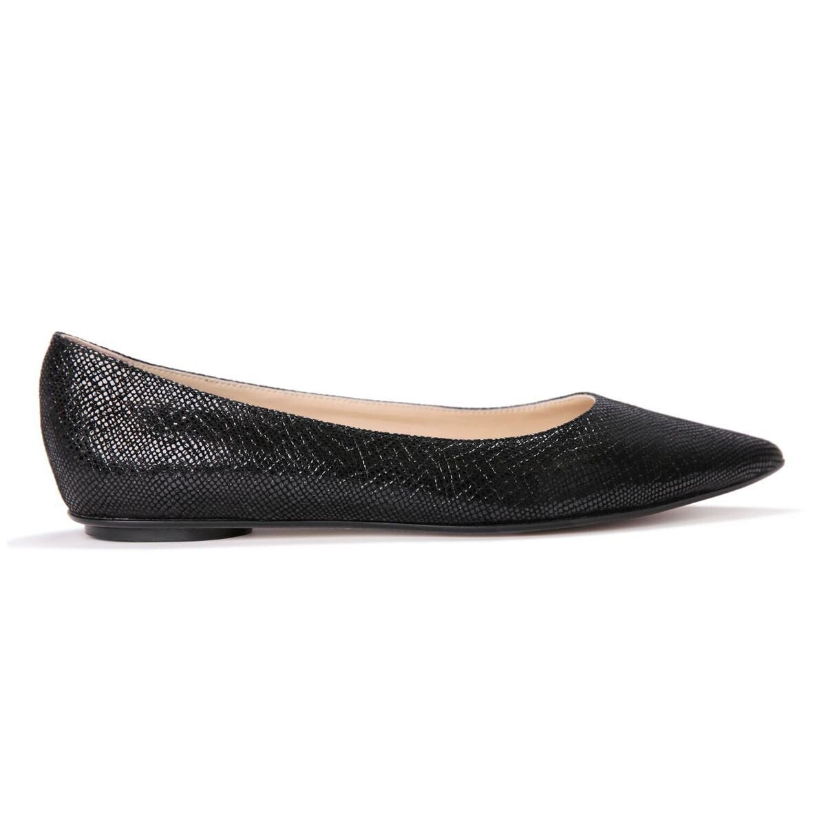 COMO - Karung Nero, VIAJIYU - Women's Hand Made Sustainable Luxury Shoes. Made in Italy. Made to Order.