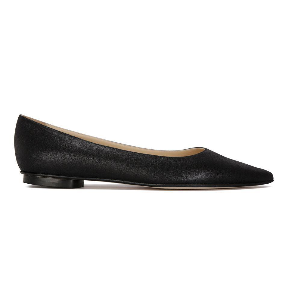 COMO - Burma Nero, VIAJIYU - Women's Hand Made Sustainable Luxury Shoes. Made in Italy. Made to Order.