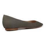 COMO - Textile Canvas Fango, VIAJIYU - Women's Hand Made Sustainable Luxury Shoes. Made in Italy. Made to Order.