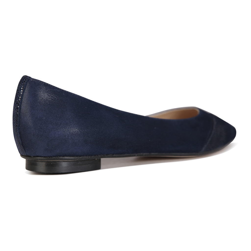 COMO - Hydra Midnight + Asymmetrical Toe Karung, VIAJIYU - Women's Hand Made Sustainable Luxury Shoes. Made in Italy. Made to Order.