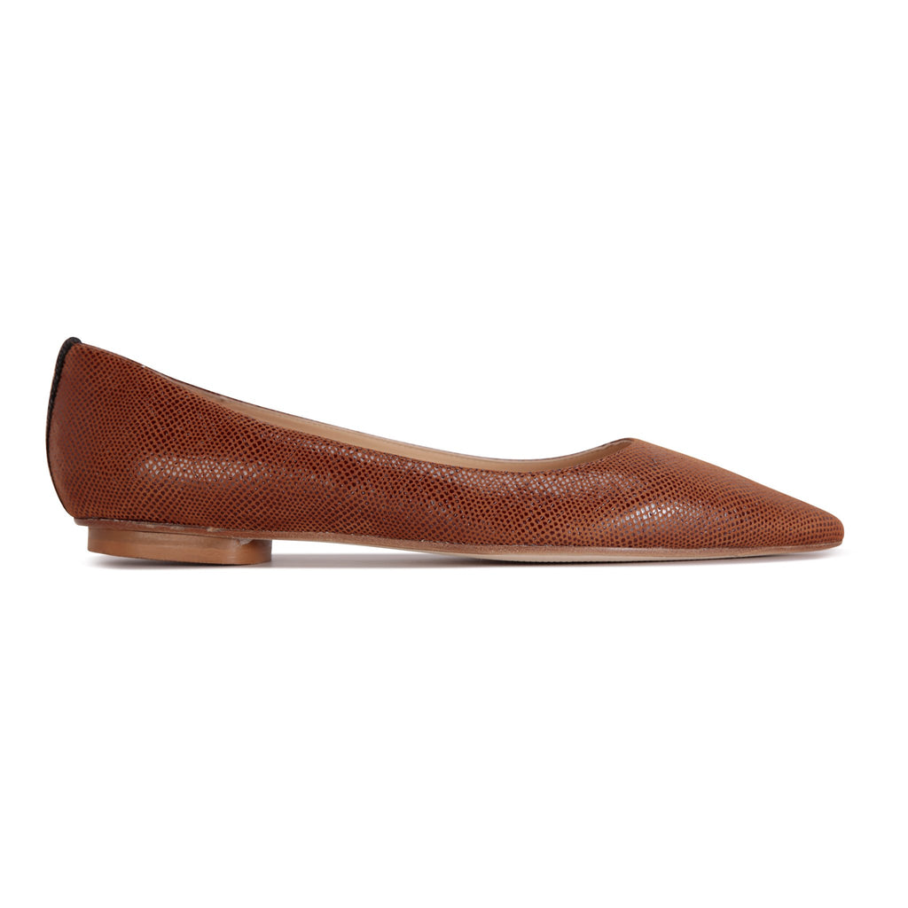 COMO - Karung Dune + Nero Back Stripe, VIAJIYU - Women's Hand Made Sustainable Luxury Shoes. Made in Italy. Made to Order.