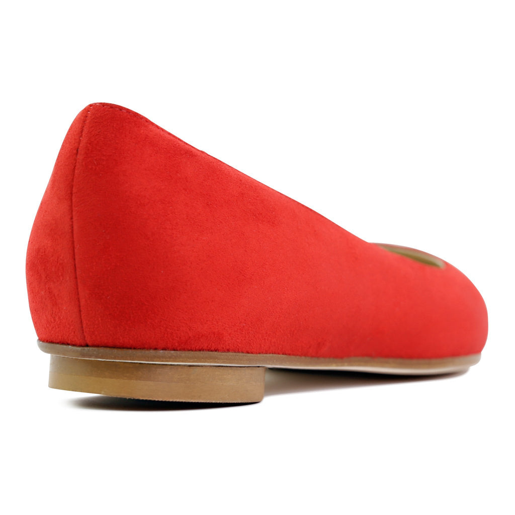 COMO (faux suede), VIAJIYU - Women's Hand Made Sustainable Luxury Shoes. Made in Italy. Made to Order.