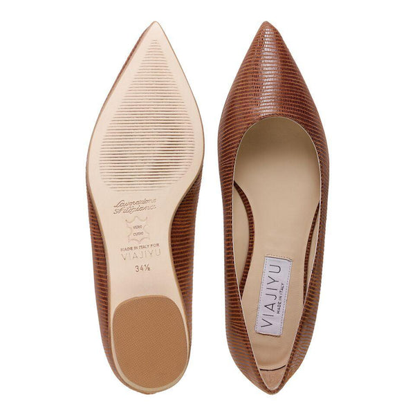 COMO, VIAJIYU - Women's Hand Made Luxury Flats. Made in Italy. Made to Order. Design your own. Como