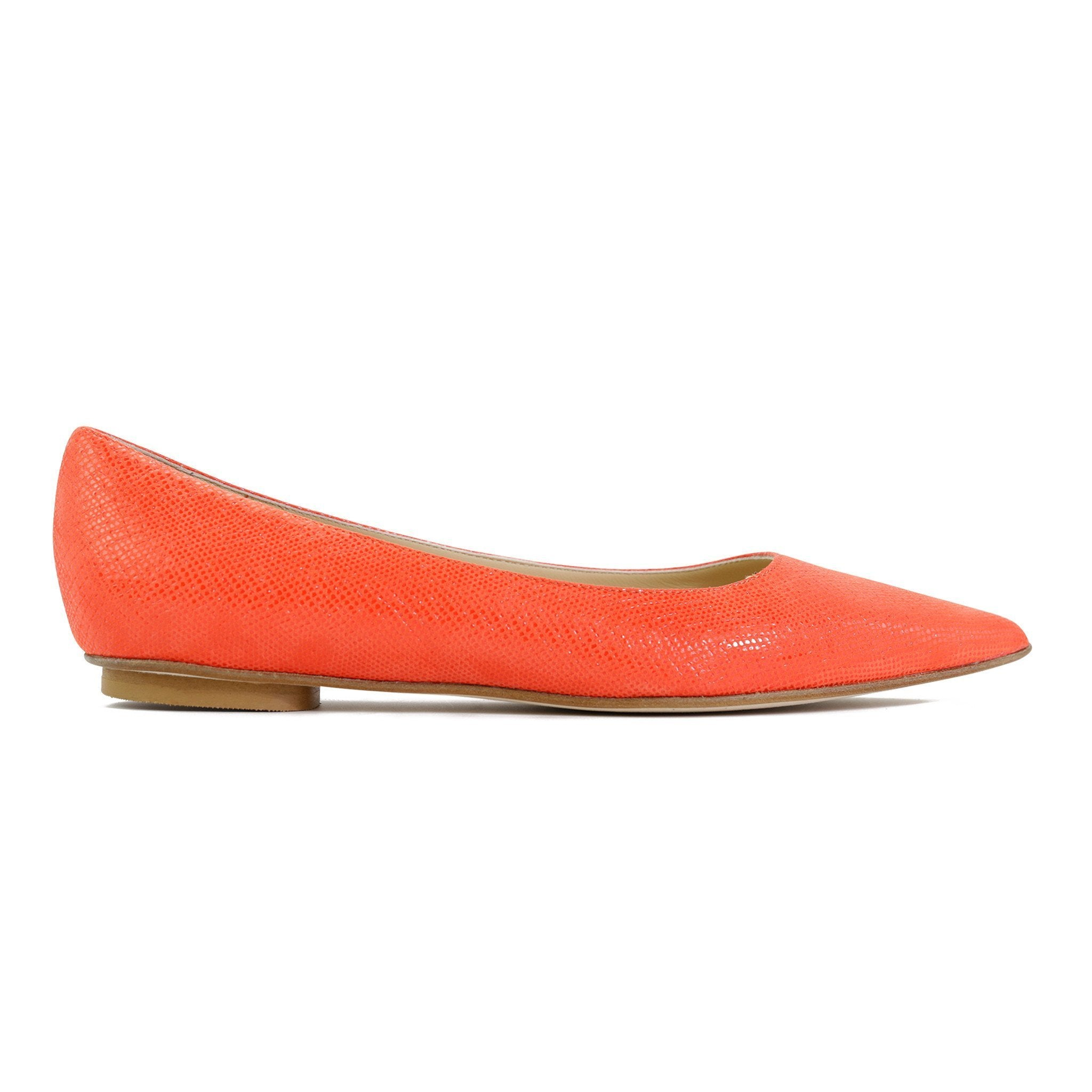 COMO - Karung Tuscan Sunset, VIAJIYU - Women's Hand Made Sustainable Luxury Shoes. Made in Italy. Made to Order.