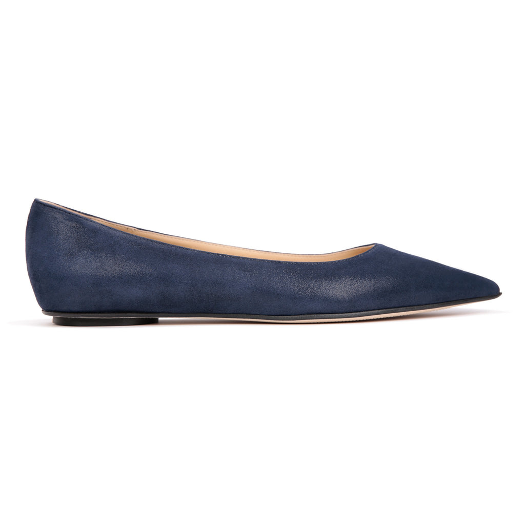 COMO - Hydra Midnight, VIAJIYU - Women's Hand Made Sustainable Luxury Shoes. Made in Italy. Made to Order.