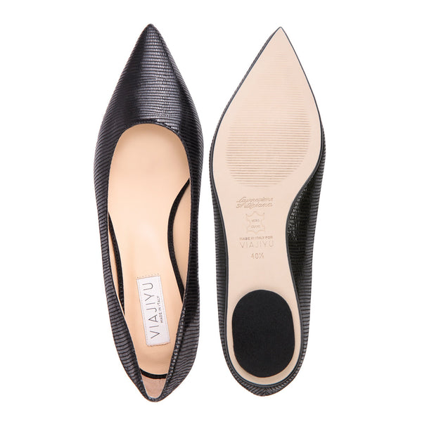 Como, VIAJIYU - Women's Hand Crafted Luxury Flats. Made in Italy. Made to Order. Design your own.