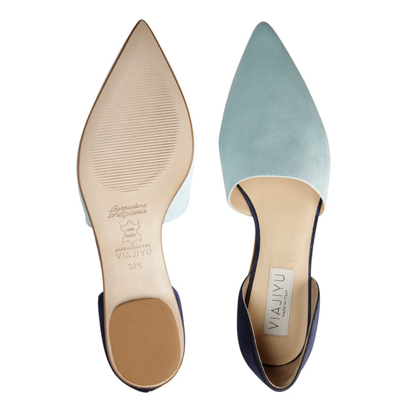 ELBA, VIAJIYU - Women's Hand Made Luxury Flats. Made in Italy. Made to Order. Design your own. ELBA