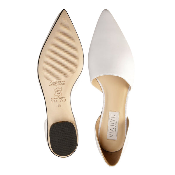 ELBA, VIAJIYU - Women's Hand Crafted Luxury Flats. Made in Italy. Made to Order. Design your own.