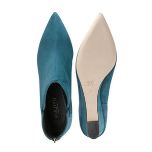 FORTE (faux suede), VIAJIYU - Women's Hand Made Sustainable Luxury Shoes. Made in Italy. Made to Order.
