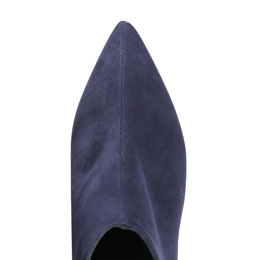 FORTE - Velukid Midnight Noir, VIAJIYU - Women's Hand Made Sustainable Luxury Shoes. Made in Italy. Made to Order.