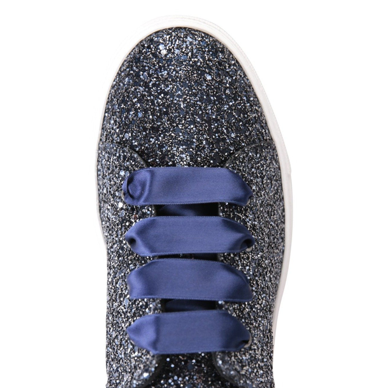 GROSSETO - Glitter Midnight, VIAJIYU - Women's Hand Made Sustainable Luxury Shoes. Made in Italy. Made to Order.