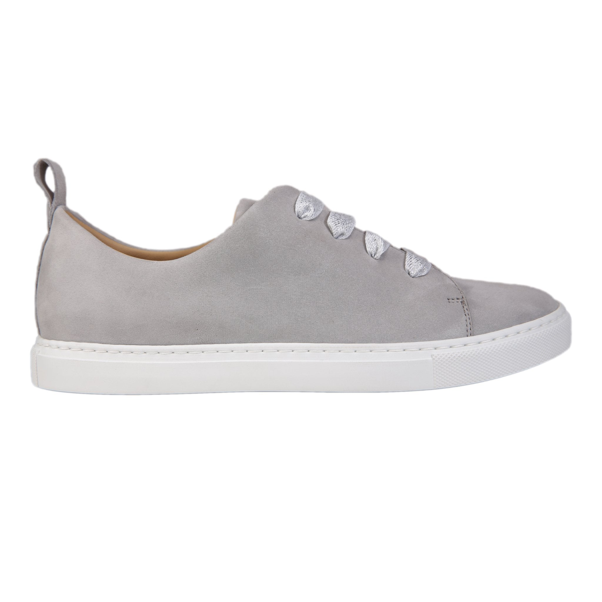 GROSSETO - Hydra Grigio, VIAJIYU - Women's Hand Made Sustainable Luxury Shoes. Made in Italy. Made to Order.