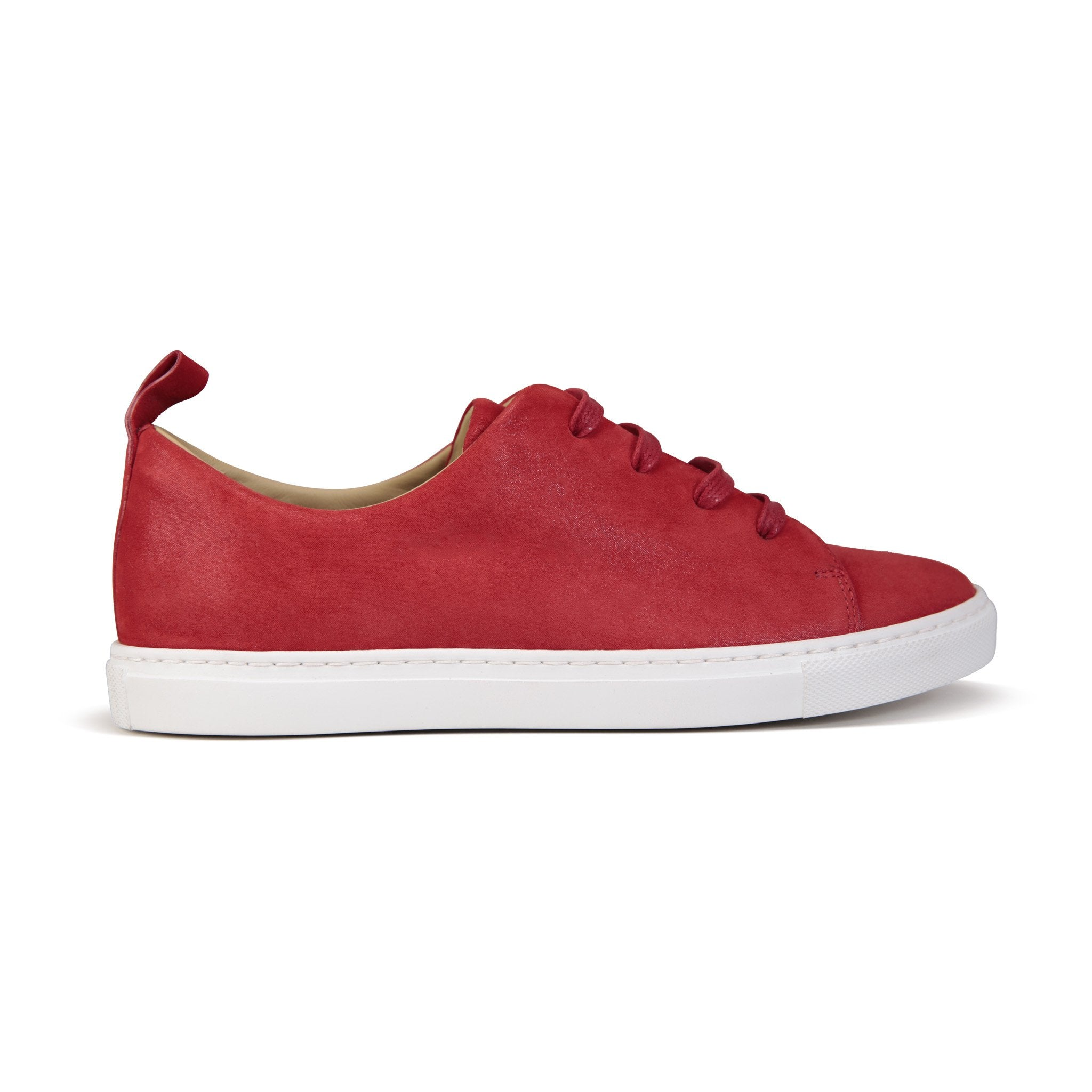 GROSSETO - Hydra Rosso, VIAJIYU - Women's Hand Made Sustainable Luxury Shoes. Made in Italy. Made to Order.