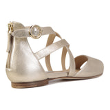 ISCHIA - Burma Platino, VIAJIYU - Women's Hand Made Sustainable Luxury Shoes. Made in Italy. Made to Order.