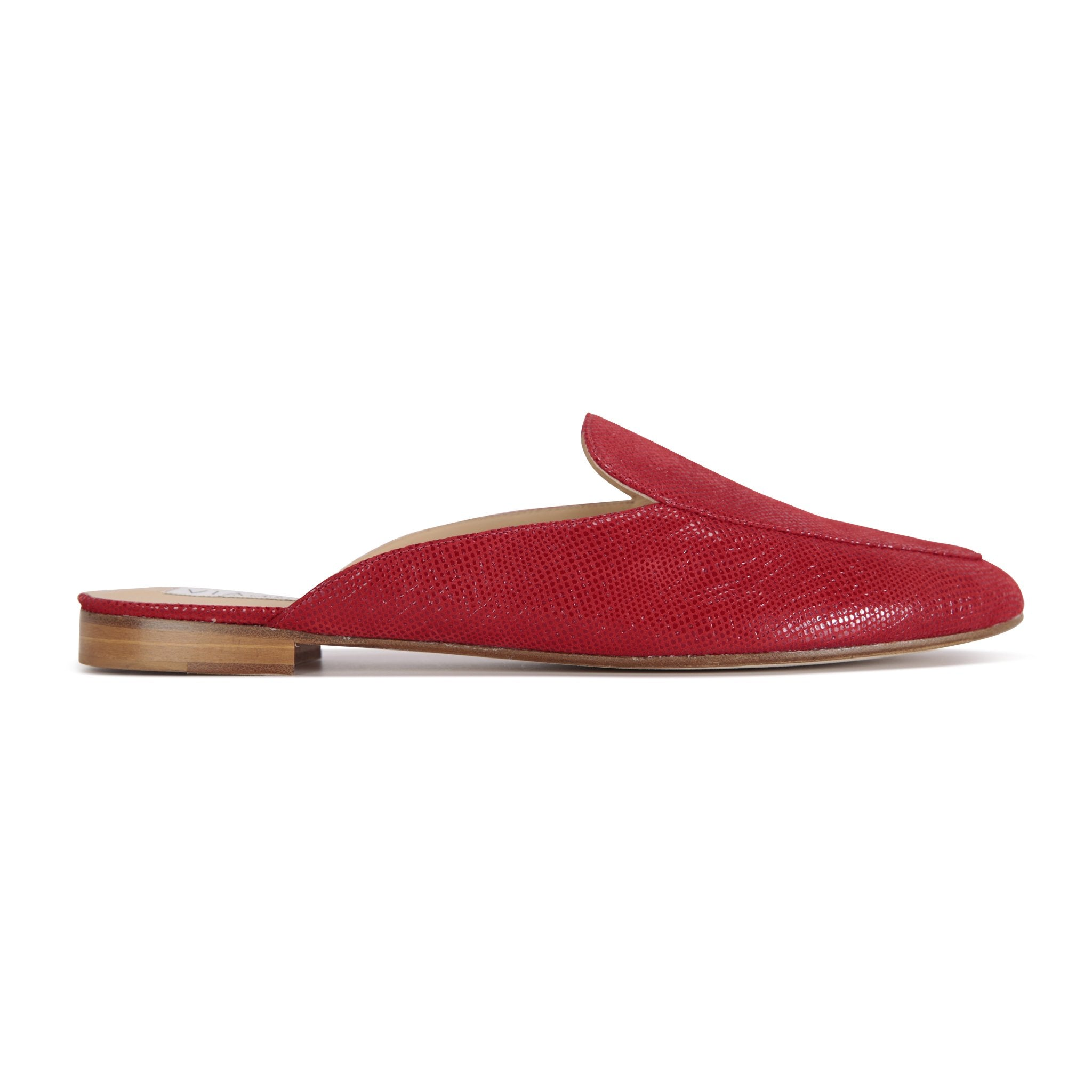ISEO - Karung Rosso, VIAJIYU - Women's Hand Made Sustainable Luxury Shoes. Made in Italy. Made to Order.