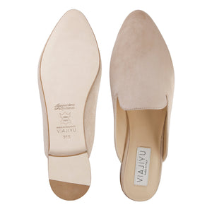 ISEO - Velukid Tan, VIAJIYU - Women's Hand Made Sustainable Luxury Shoes. Made in Italy. Made to Order.