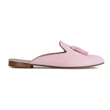 ISEO - Velukid Principesa Pink + Tassel, VIAJIYU - Women's Hand Made Sustainable Luxury Shoes. Made in Italy. Made to Order.