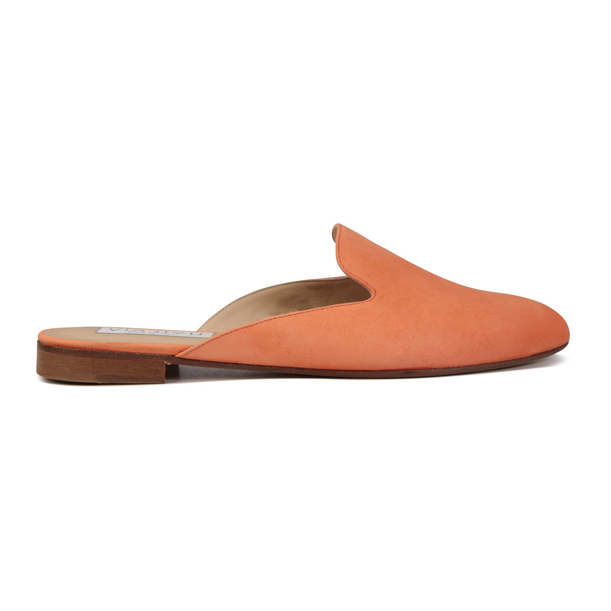 ISEO - Velukid Mandarin, VIAJIYU - Women's Hand Made Sustainable Luxury Shoes. Made in Italy. Made to Order.