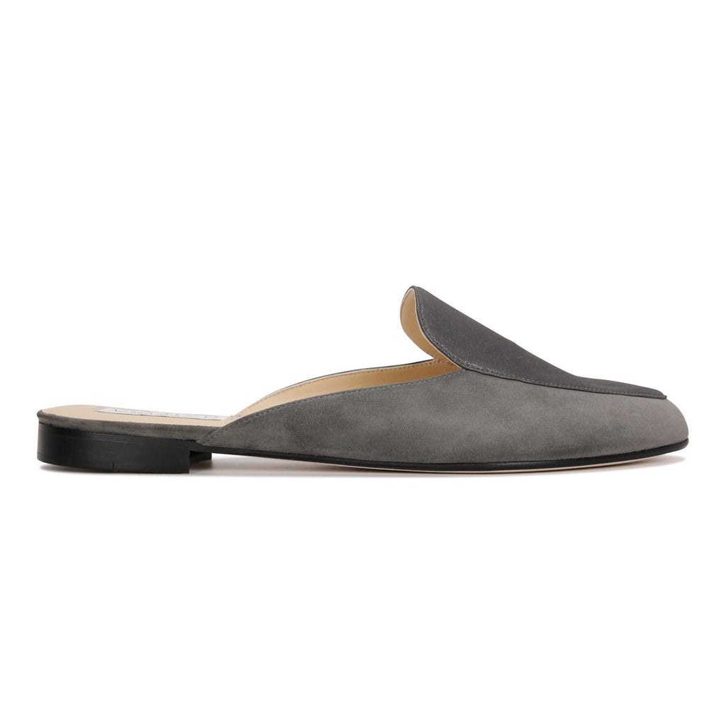 ISEO - Velukid + Burma Anthracite, VIAJIYU - Women's Hand Made Sustainable Luxury Shoes. Made in Italy. Made to Order.