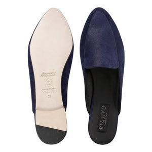 ISEO - Velukid + Hydra Midnight, VIAJIYU - Women's Hand Made Sustainable Luxury Shoes. Made in Italy. Made to Order.