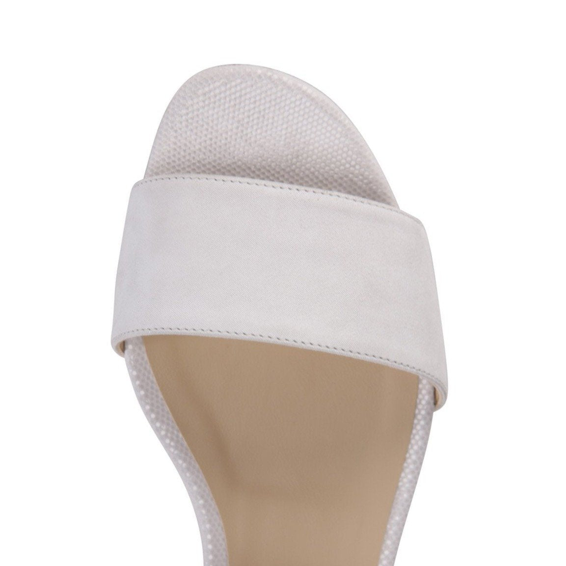 LUCCA - Hydra Bianco + Lady, VIAJIYU - Women's Hand Made Sustainable Luxury Shoes. Made in Italy. Made to Order.