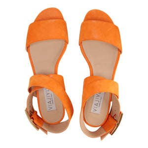 LUCCA - Hydra Mandarin, VIAJIYU - Women's Hand Made Sustainable Luxury Shoes. Made in Italy. Made to Order.