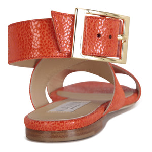 LUCCA - Savannah Tuscan Sunset, VIAJIYU - Women's Hand Made Sustainable Luxury Shoes. Made in Italy. Made to Order.