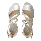 ISCHIA - Burma Argento, VIAJIYU - Women's Hand Made Sustainable Luxury Shoes. Made in Italy. Made to Order.