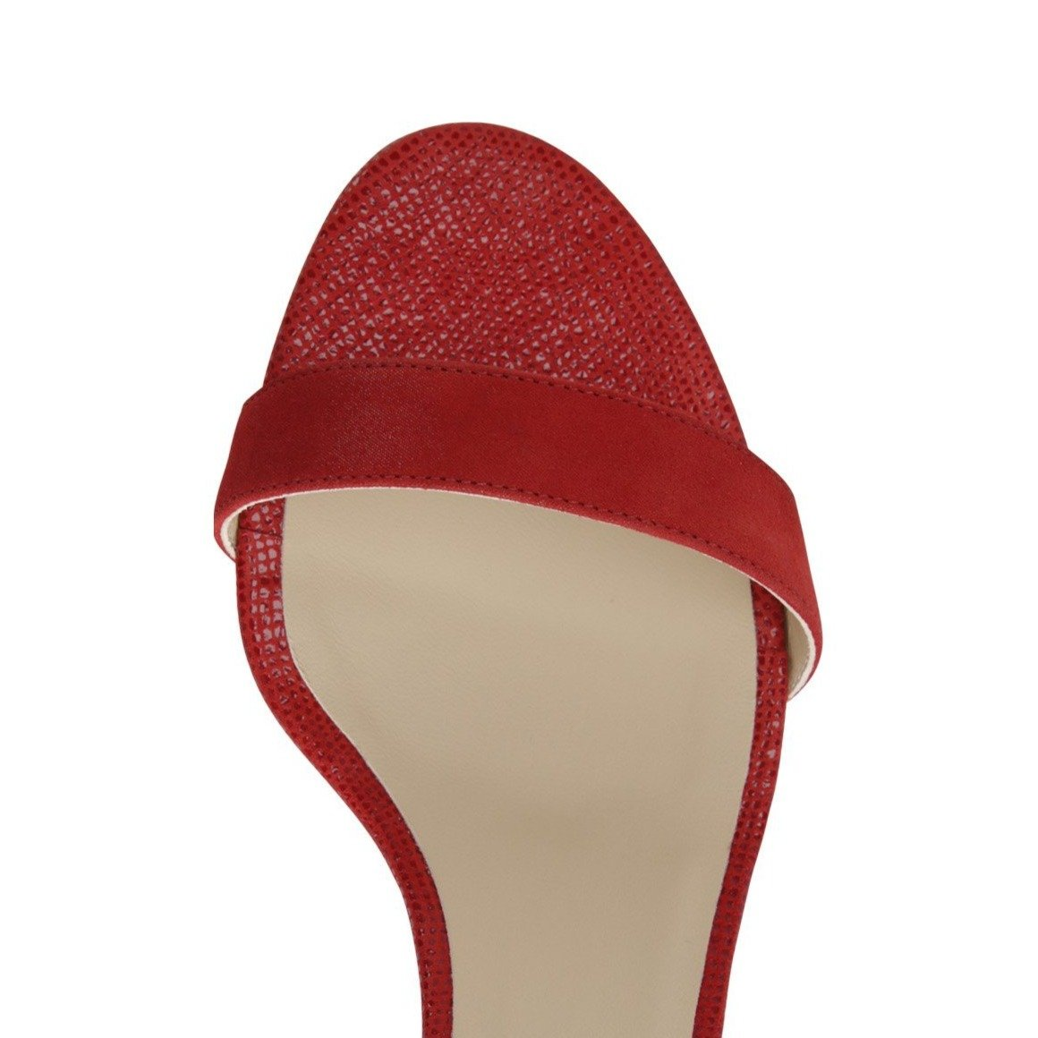 SAVONA - Hydra + Karung Rosso, VIAJIYU - Women's Hand Made Sustainable Luxury Shoes. Made in Italy. Made to Order.