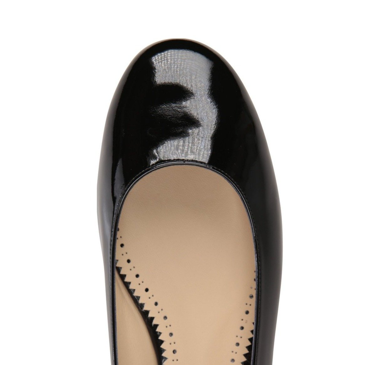 ROMA - Patent Nero, VIAJIYU - Women's Hand Made Sustainable Luxury Shoes. Made in Italy. Made to Order.