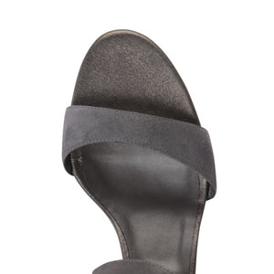 MODENA - Velukid + Burma Anthracite, VIAJIYU - Women's Hand Made Sustainable Luxury Shoes. Made in Italy. Made to Order.