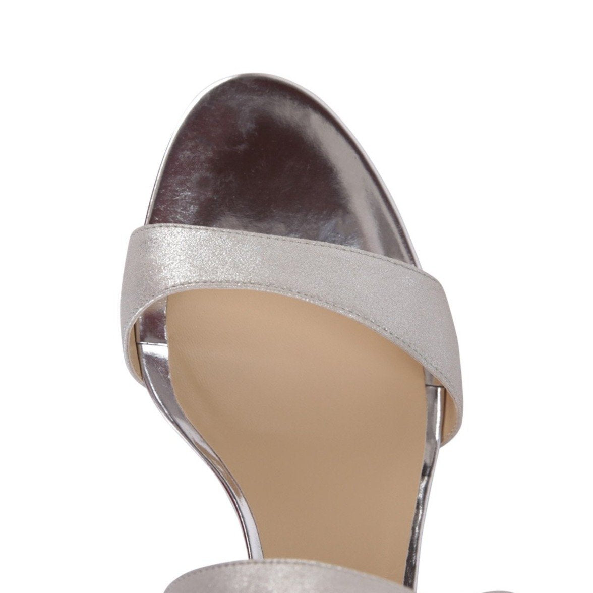 MODENA - Burma Argento + Metallic Wedge, VIAJIYU - Women's Hand Made Sustainable Luxury Shoes. Made in Italy. Made to Order.