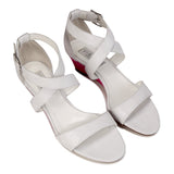 MODENA - Karung Bianco + Epiphany Pink, VIAJIYU - Women's Hand Made Sustainable Luxury Shoes. Made in Italy. Made to Order.